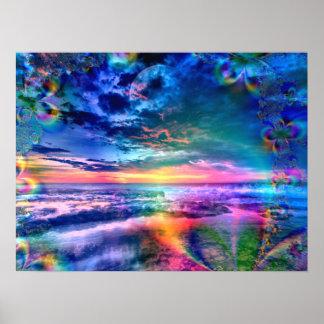 Sky of Heavenly Wonders - Poster