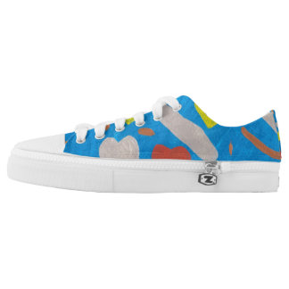 Sky of Love Low Tops Printed Shoes