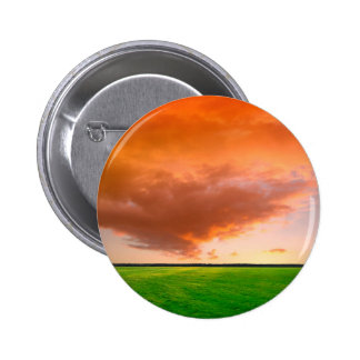 Sky Orange Nature Pin