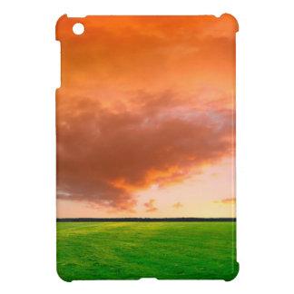 Sky Orange Nature iPad Mini Cover