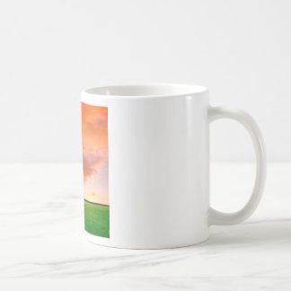 Sky Orange Nature Mugs