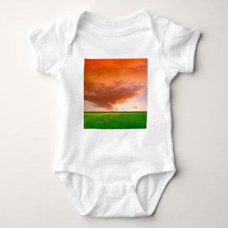 Sky Orange Nature T-shirts
