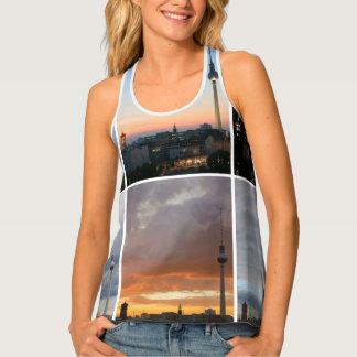 Sky over Berlin All-Over Printed Tank Top