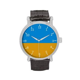 Sky Over Cornfield Wrist Watch