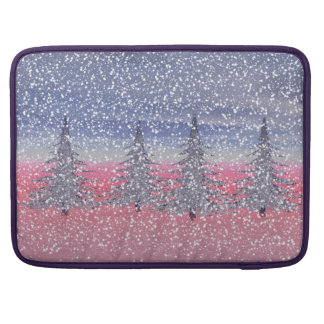 sky pink and snow sleeve for MacBook pro