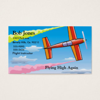 Sky Plane Business Card