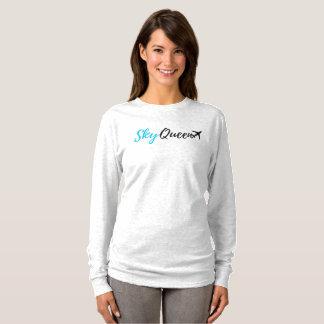 Sky Queen Flight Attendant Long-sleeve shirt