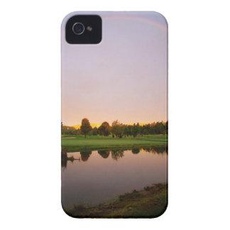 Sky Rainbow Land iPhone 4 Cases