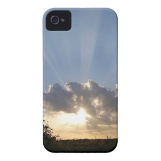 Sky Ray Of Light iPhone 4 Cover
