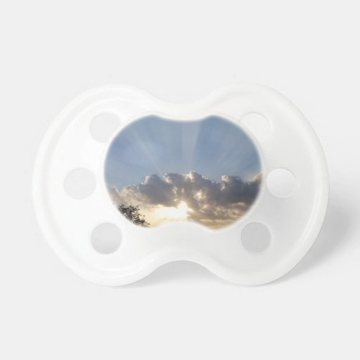 Sky Ray Of Light Baby Pacifiers