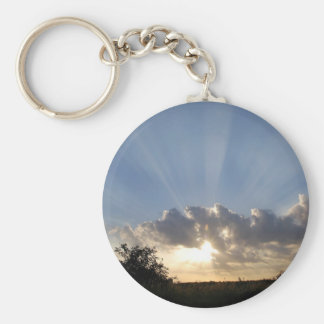 Sky Ray Of Light Key Chains
