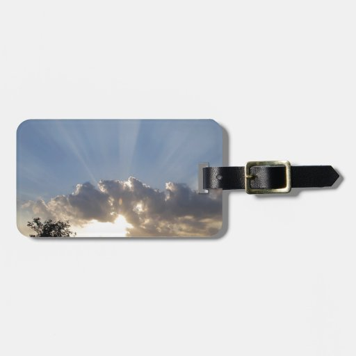 Sky Ray Of Light Tags For Bags