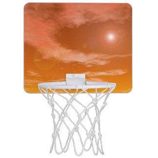 sky_red_standard_sun mini basketball hoop