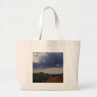 Sky Road To Nowhere Tote Bag