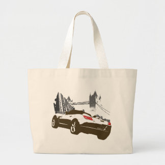 Sky Rollin' Large Tote Bag