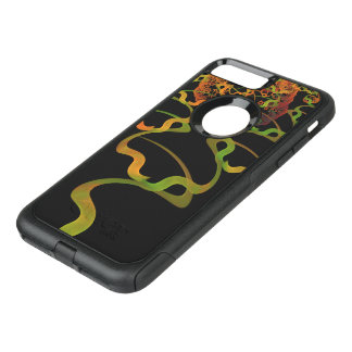 Sky Roots Wildstyle Mural of Autumn Fractal Trees OtterBox Commuter iPhone 8 Plus/7 Plus Case