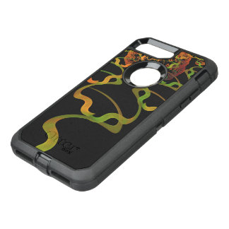 Sky Roots Wildstyle Mural of Autumn Fractal Trees OtterBox Defender iPhone 8 Plus/7 Plus Case
