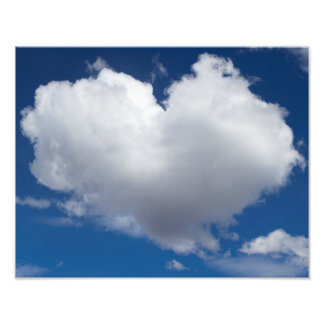 Sky Says Love Photo Print