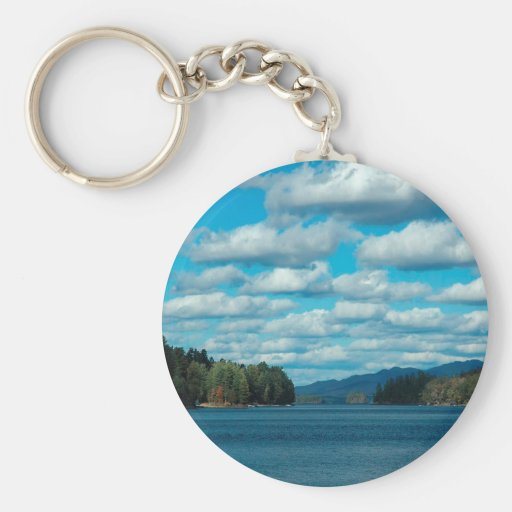 Sky Seperated Clouds Keychains