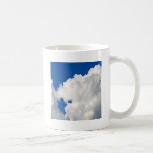 Sky Shapes Of Blue Coffee Mug