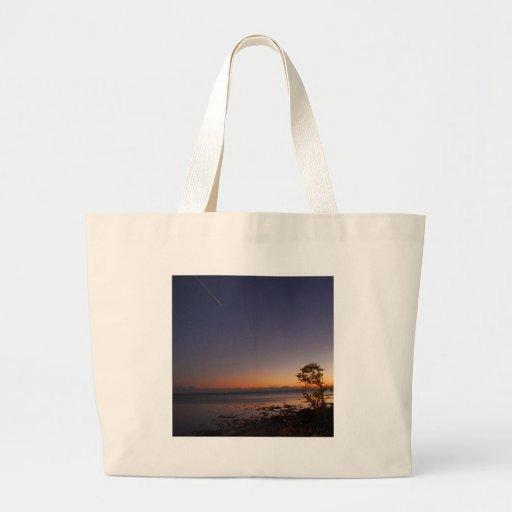 Sky Shooting Afterglow Tote Bag