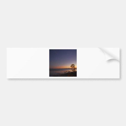 Sky Shooting Afterglow Bumper Sticker