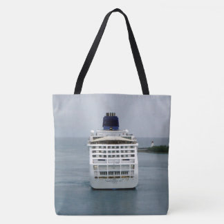 Sky Stern in Nassau Tote Bag