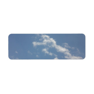 Sky, Sun and Sea Return Address Label