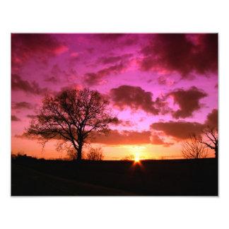 Sky Sunset Nature Photographic Print