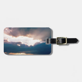 Sky The Last Rays Light Tags For Luggage