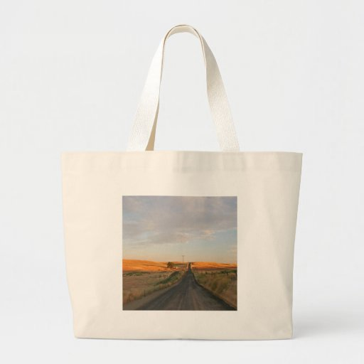Sky The Long Road Ahead Canvas Bags