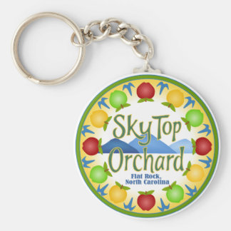 Sky Top Orchard Key Ring