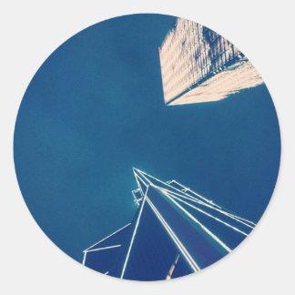 Sky Tower Classic Round Sticker
