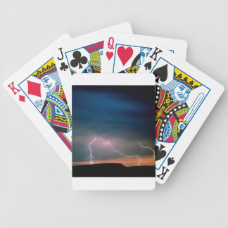 Sky Unstable Atmosphere Arizona Bicycle Playing Cards