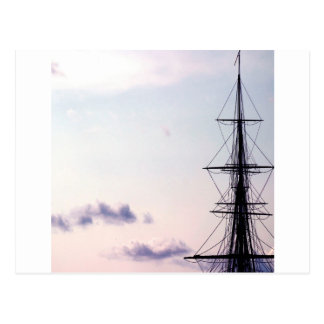 Sky Uss Constitution Mast Postcards
