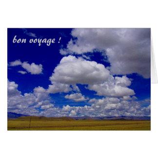 sky voyage greeting card