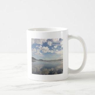 Sky Water Reflects Coffee Mug