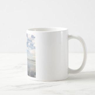 Sky Water Reflects Mugs