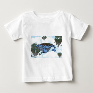 sky whale baby T-Shirt