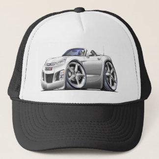 Sky White Car Cap