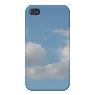 Sky with Clouds. iPhone 4 Cases
