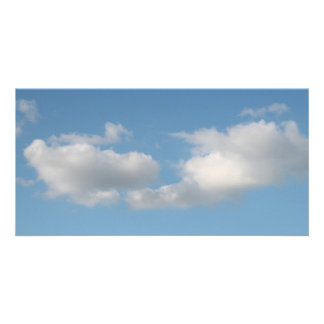 Sky with Clouds. Photo Greeting Card