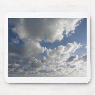 Sky with giants cumulonimbus clouds mouse pad