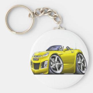 Sky Yellow Car Key Ring