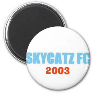 SKYCATZFC TEXT 2003 Magnet