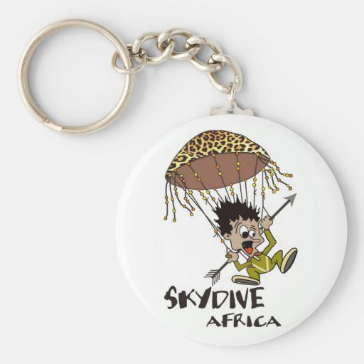 Skydive Africa Keychains
