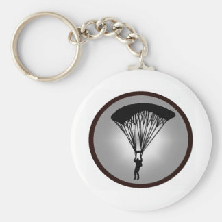SKYDIVE CLOUD LINE BASIC ROUND BUTTON KEY RING