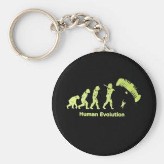 SkyDive Human Evolution Key Ring