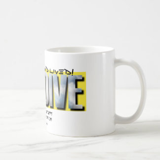 skydive, I did it... and lived! Coffee Mug