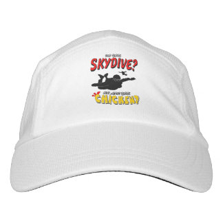Skydive or Chicken? (blk) Hat